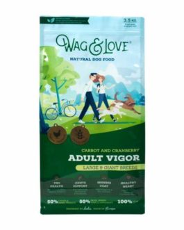 Wag and Adult Vigor Grain Free 3.5 Kg
