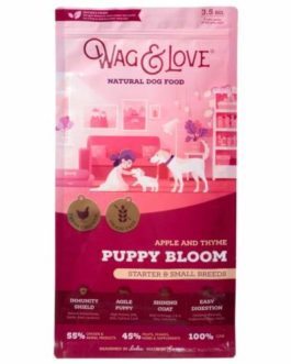 Wag and Love Puppy Bloom Grain Free Dog Food