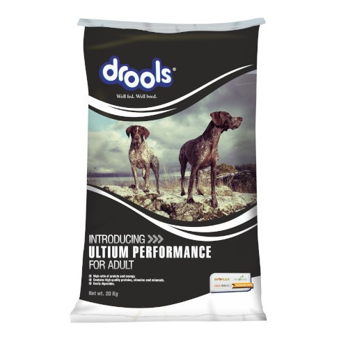 drools ultium performance adult dog food
